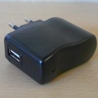Chargeur/transfo pour secteur 220v sortie USB 5v/500mA