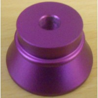 Support Alu pour Clearomiseur / atomiseur / Dripper pas 510 violet