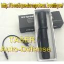 Taser shocker+lampe auto defense