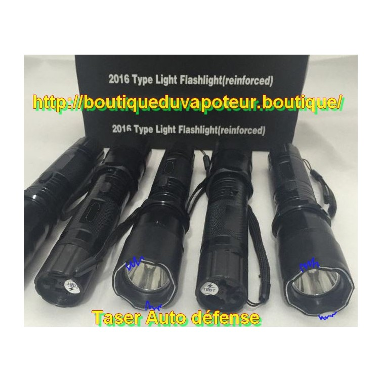 taser tazer shoker lampe auto defense 1millions de volts 25 puissant. Black Bedroom Furniture Sets. Home Design Ideas