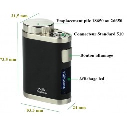 ISTICK PICO MEGA mod batteries cigarette electronique