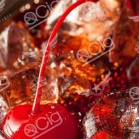 Cherry Cola Rafraîchissant tout comme la boisson classique cola cerise