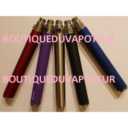 Batteries 1100mA Twist (voltage réglable : Confort de vape)