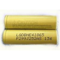 18650 batterie pile Accu LG ICR18650HE4 2500mAh 35A