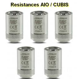 Résistance AIO/CUBIS à l'unité