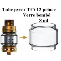 bulb Verre tube pyrex TFV12 Prince 8 ml