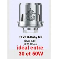 Résistance TFV8 X Baby smok M2 unité