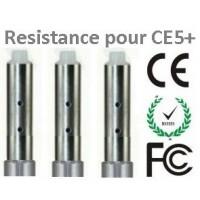 Résistance pour CE5+