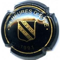 """Capsule de champagne AVIZE """" 24heures d'avize 1991"""""""