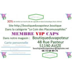 1 CARTE DE MEMBRE VIP CAPS 1