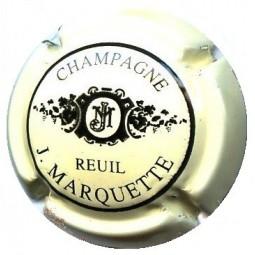 """MARQUETTE J. """"Crème /Noir"""""""