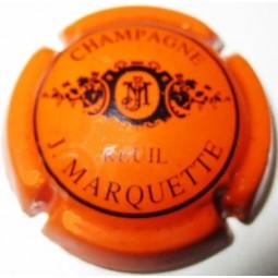 """MARQUETTE J. """"Orange/Noir"""""""