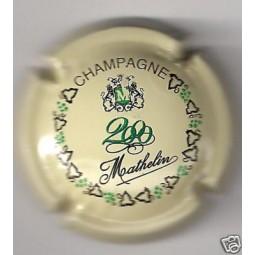 MATHELIN An 2000 Crème écriture verte