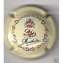 MATHELIN An 2000 Crème écriture rouge