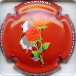 "Arlette (la fée d') ""Roses fond rouge"""