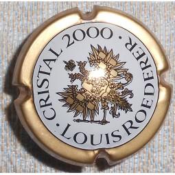 """Capsule de champagne JEROBOAM ROEDERER """"Christal 2000"""""""