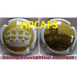 capsule de champagne CAUX D. Export angleterre