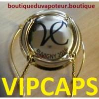 capsule de champagne Veuve CHEURLIN Plaqué OR