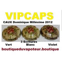 Capsules de champagne CAUX D. Millésime 2012