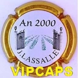 Capsule de Champagne LASSALLE An 2000
