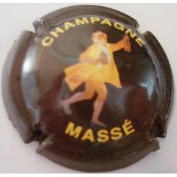 capsule de champagne Massé fond Marron foncé
