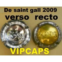 capsule de champagne Union De Saint Gall 2009