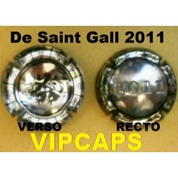 Capsule de champagne Union De Saint Gall 2011
