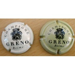 capsules de champagne GRENO (sous marque de pommery) petit et grand