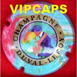 Capsule de champagne DUVAL LEROY polychrome
