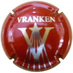 capsule de champagne VRANKEN Rouge (tirant sur marron)