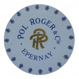Flan de capsule champagne Pol Roger n°61