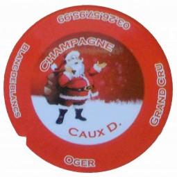 """Flan 5 capsule champagne Caux Dominique """"noel 2012"""""""