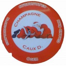 """Flan 6 capsule champagne Caux Dominique """"noel 2012"""""""