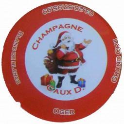 "Flan JERO capsule champagne Caux Dominique ""noel 2012"" jeroboam"
