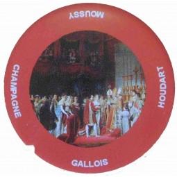 "Flan 2 capsule champagne Gallois Houdart ""Napoléon"""