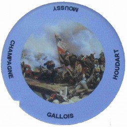 "Flan 4 capsule champagne Gallois Houdart ""Napoléon"""