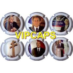 """Capsules de champagne ROBERT Jérome """"Présidents"""""""