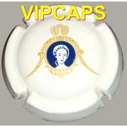 Capsule de champagne Comtesse DUBARRY fond Blanc