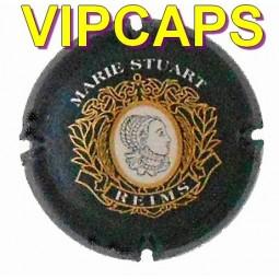 belle capsule de champagne STUART Marie Visage portrait fond Noir