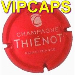 Nouvelles capsules de champagne THIENOT Rouge vif