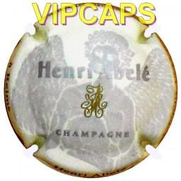 Capsule de champagne ABELE Henri Blanc de Blanc (plaque de muselet) pas cher