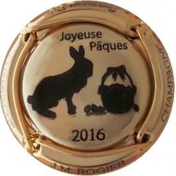 ROGIER Pâques 2016 Plaqué OR