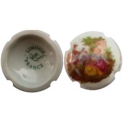 """CAPSULE DE CHAMPAGNE Moutardier """"cuvée porcelaine 1"""""""