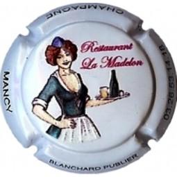 """Capsule de Champagne Blanchard Publier """"la madelon"""" en relief"""