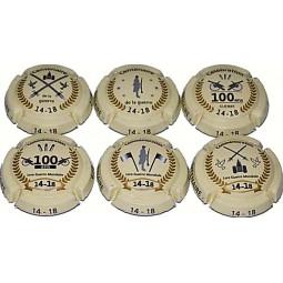 Capsule de champagne generique Centenaire 14 18 pas cher petit prix