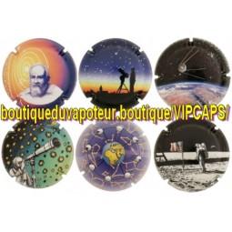 """Capsules de champagne génériques """" Année mondiale de l'astronomie"""""""