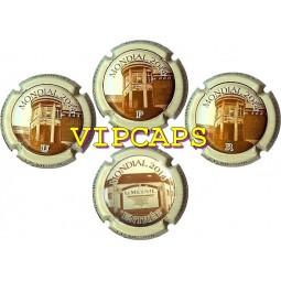 Capsules champagne U.P.R Mondial 2014 promo pas cher