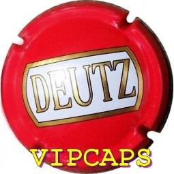 Capsule de champagne JEROBOAM DEUTZ rouge