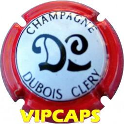 Capsule de champagne DUBOIS CLERY contour rouge n° 10 marne VIPCAPS pas cher