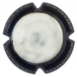 capsule champagne ELLNER contour noir centre métal